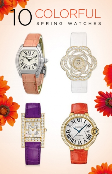 10 Colorful Spring Watches