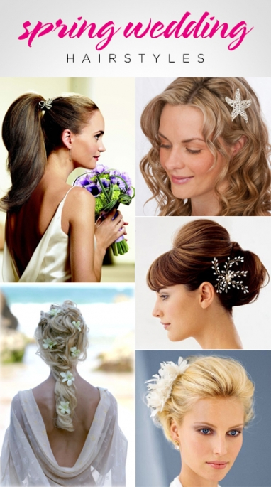LUX Beauty: 5 Spring Wedding Hairstyles