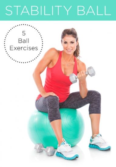 5 Exercises You Can Do With a Stability Ball