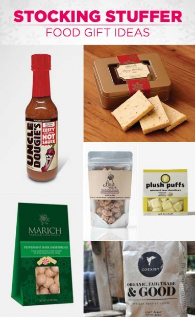 Stocking Stuffer Food Gift Ideas
