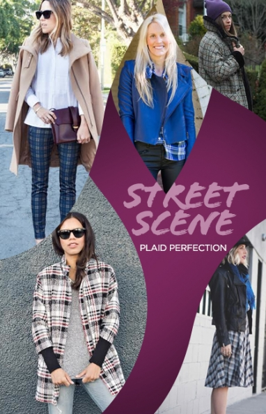 Street Scene: Plaid Perfection