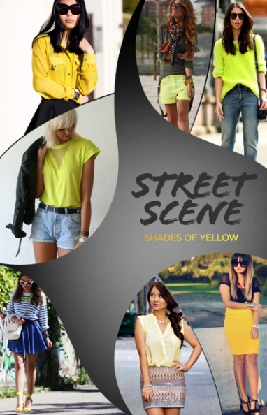 Street Scene: Shades of yellow