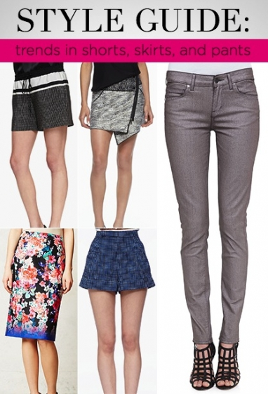 LUX Style: Trends in Shorts, Skirts and Pants