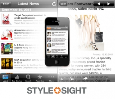 Stylesight offers iPhone app for fashion news