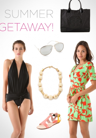 LUX Style: 10 MUST haves items for a summer getaway!