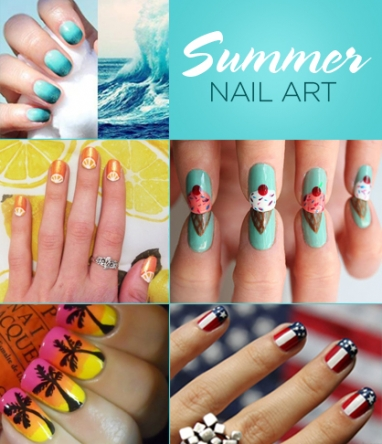 LUX Beauty: 10 Summer Nail Art Ideas