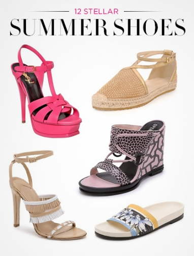12 Essential Summer Shoes