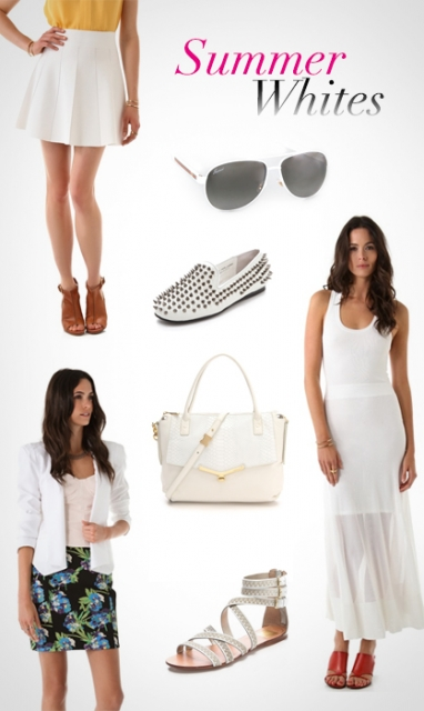 LUX Style: Summer Whites