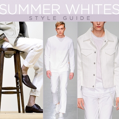 LUX Man: How to Wear Summer Whites