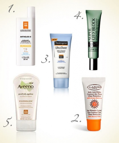 Be Safe in the Sun: Top 5 Sunscreens