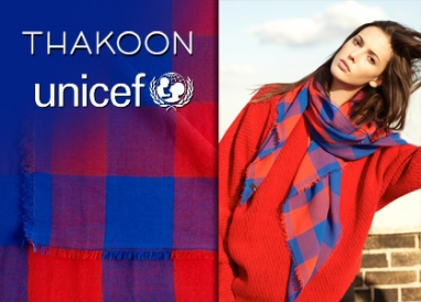 Thakoon charity scarf helps children in Africa