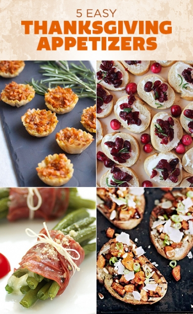 5 Easy Ideas for Thanksgiving Appetizers