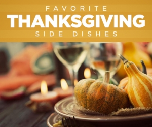 Delectable Thanksgiving Side Dishes