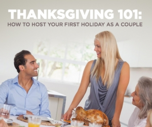 How to Host Your First Thanksgiving Together
