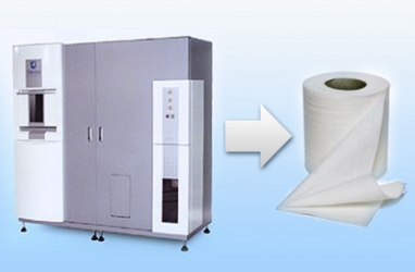 Magical Machine Turns Office Waste into Toilet Paper