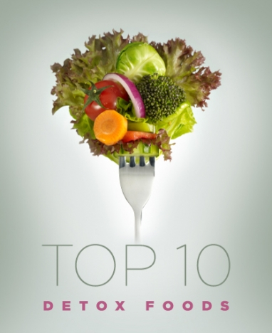 Wellness Wednesday: Top 10 Detox Foods