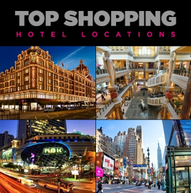 LUX Travel: Top Shopping Hotels