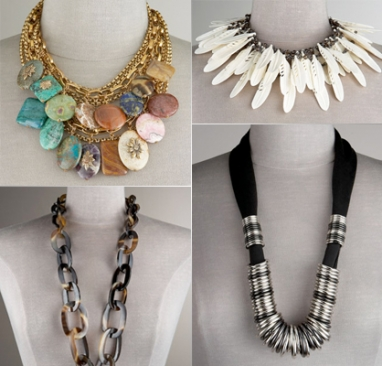 LUX Look: Tribal Necklaces