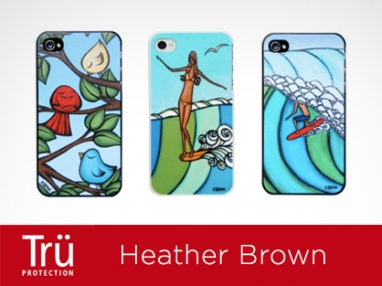 Heather Brown and TRU Protection team up to create iPhone cases that support ocean-focused charities