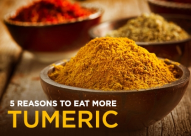 Wellness Wednesday: 5 Reasons to Eat More Tumeric