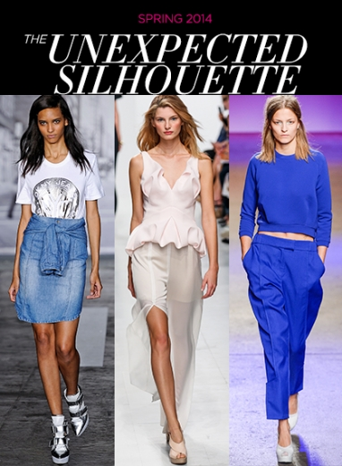 Spring 2014: The Play on Silhouettes Trend