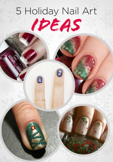 5 Holiday Nail Art Ideas