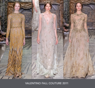 The Strut Report: Valentino Fall Couture 2011
