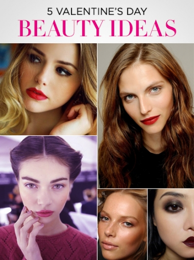 5 Beauty Ideas for Valentine's Day