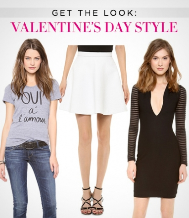 Get The Look: Valentine's Day Style