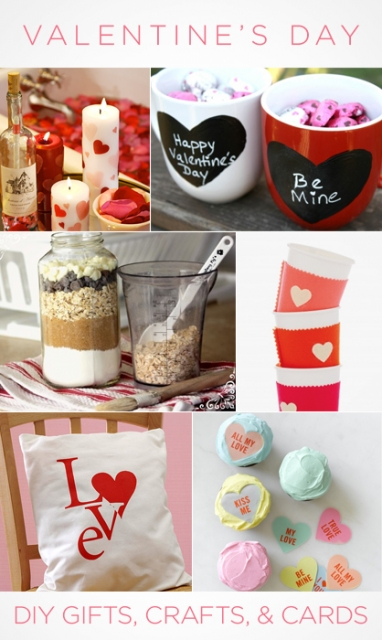 Valentine's Day: DIY Gifts, Crafts and Cards