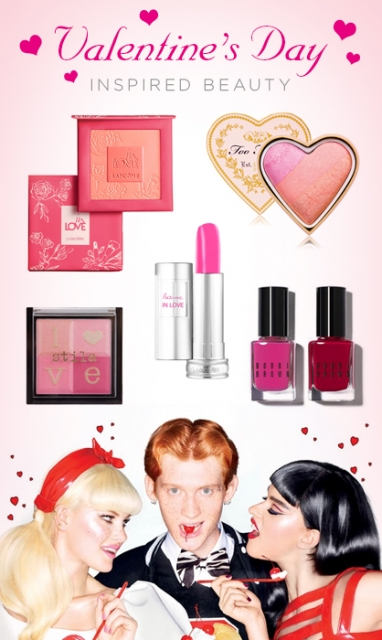 LUX Beauty: Valentine's Day Inspired Beauty
