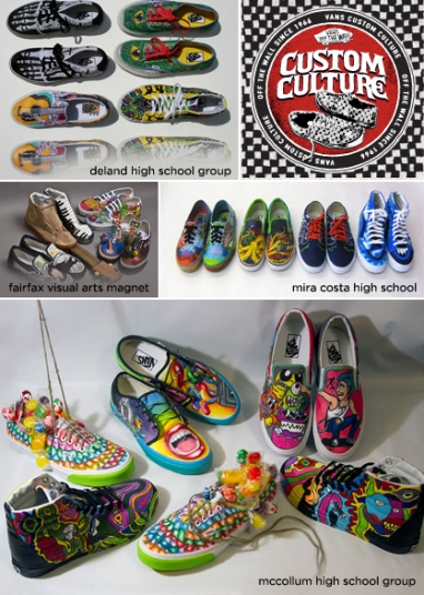 Vans Custom Culture Contest to award $50,000 prize to support high school art programs
