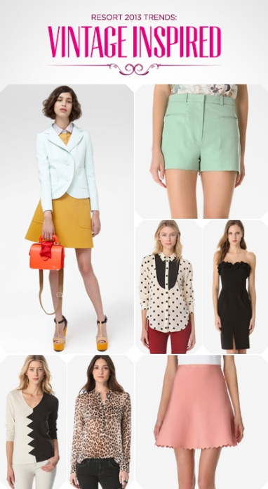 Resort 2013 Trends: Vintage Inspired