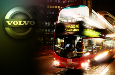 Volvo Infuses Eco-Upgrade to London's Double Deck Buses