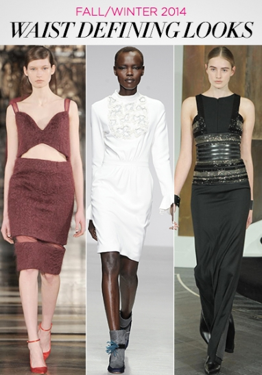 Fall/Winter 2014: Waist Defining Looks