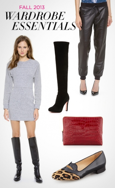 LUX Style: 10 Fall 2013 Wardrobe Essentials