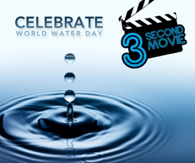 Three-second movie contest challenges water activists