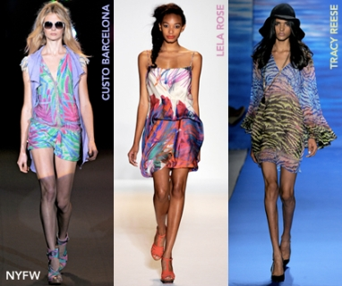 At NYFW: Watercolors