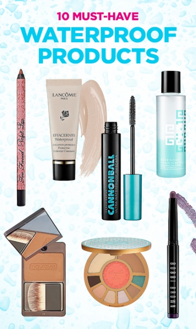 LUX Beauty: 10 Must-Have Waterproof Products