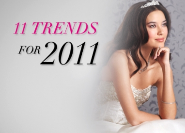 11 haute wedding trends for 2011