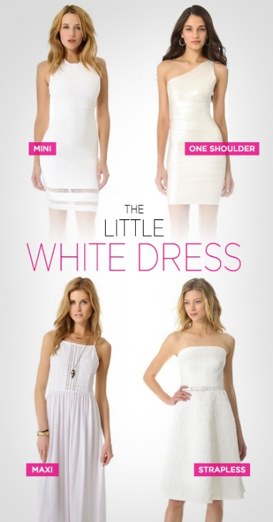 Summer Staple: The Little White Dress