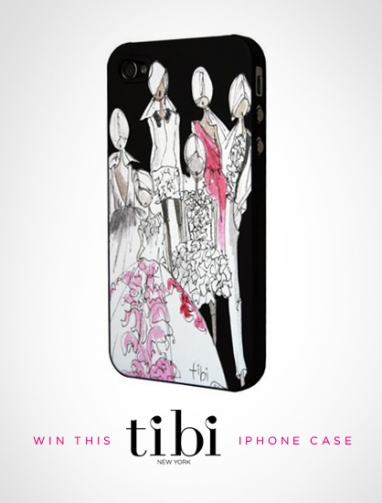 "LUX Giveaway: Tibi iPhone Cover ""For the Love of Pretty"""