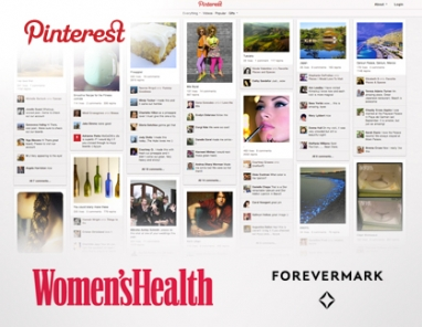 Women's Health launches ad program sponsored by Forevermark Diamonds on Pinterest