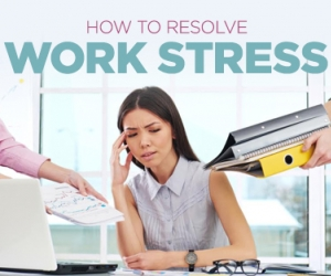 Learn How to Relieve Work-Related Stress