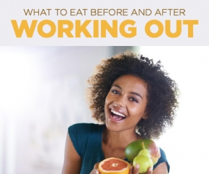 The Best Food to Eat Before and After a Workout