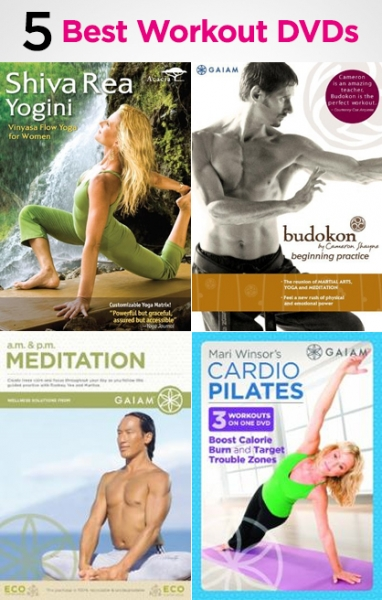 Best 5 Workout DVDs for the Mind and Body
