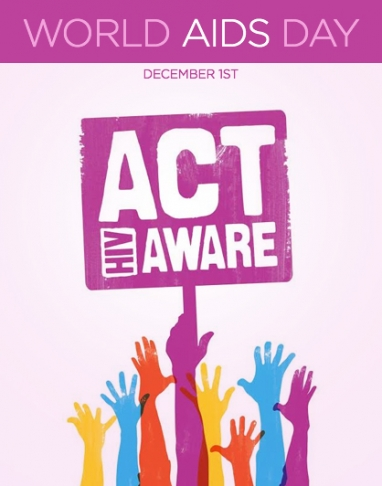 Supporting World AIDS Day on December 1st