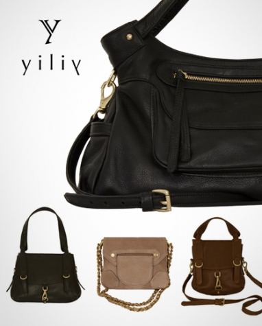 Yilin Chen's handbag line, House of Yiliy, is understated chic