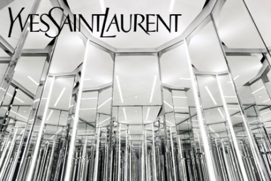 Hedi Slimane's new YSL concept revealed in Shanghai