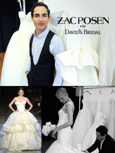 Zac Posen to Debut Collection for David's Bridal